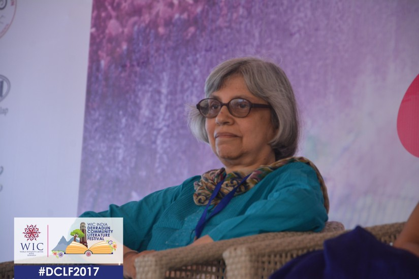 WRITING IS MY FIRST LOVE – ROSHEN DALAL AT WIC INDIA DCLF 2017