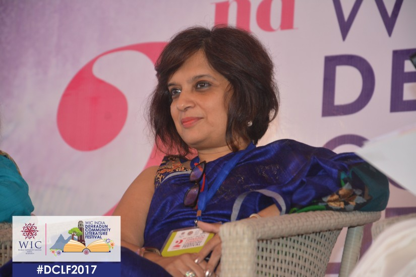 NEVER FEAR A NO FOR THERE IS ALWAYS A YES HIDING SOMEWHERE – KAVITA KANE AT WIC INDIA DCLF2017