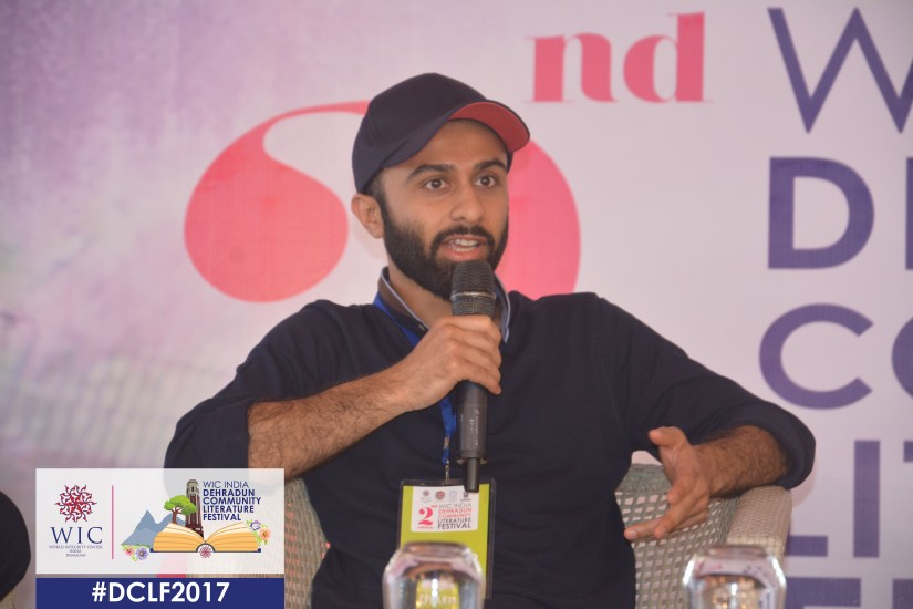 THE CURRENT PHASE I AM IN IS AN ORGANISED MESS – SANIL SACHAR AT WIC INDIA DCLF 2017