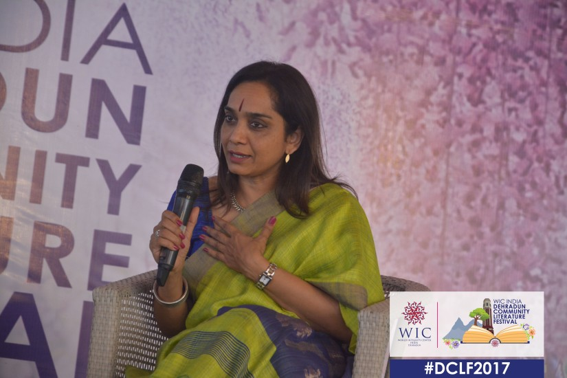 THERE IS NOTHING THAT A DETERMINED SOUL CANNOT DO – SUDHA MENON AT WIC INDIA DCLF2017