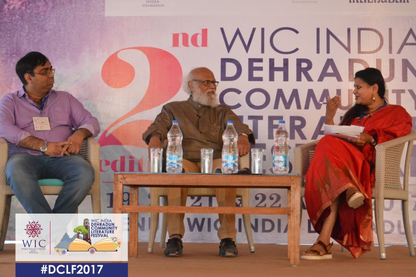 I DO LOVE THE IMMEDIACY OF A POEM – ROHINTON DARUWALA AT WIC INDIA DCLF 2017