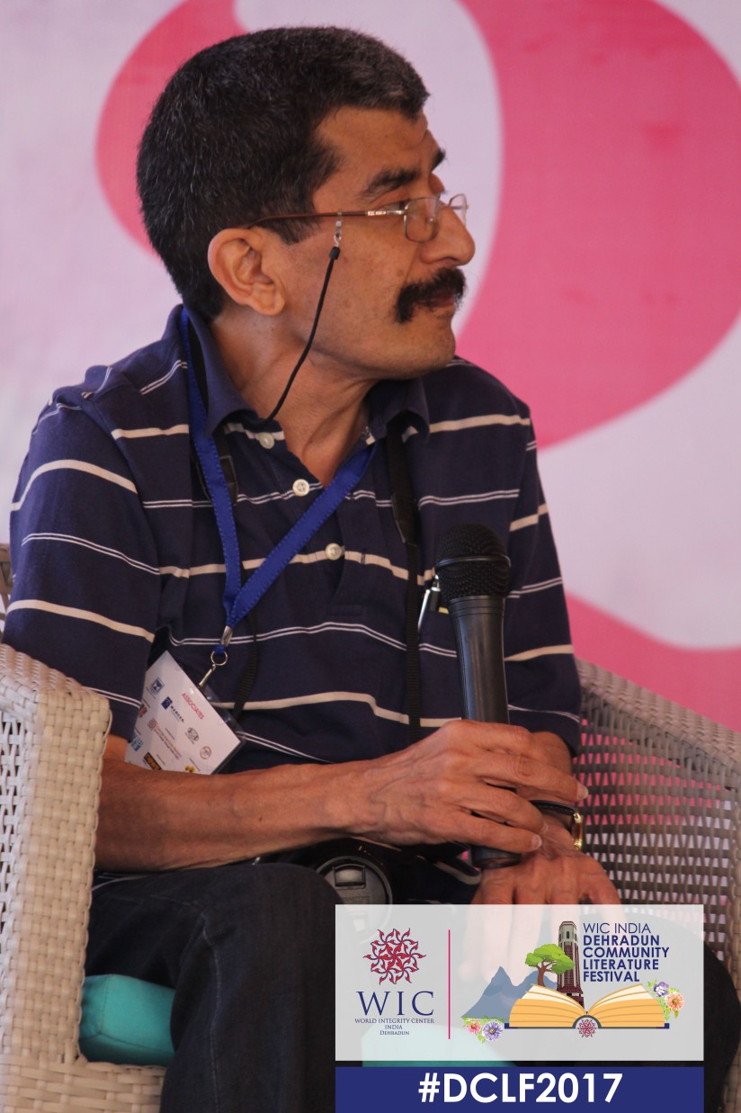 KEEP ON WRITING – RANJIT LAL AT WIC INDIA DCLF 2017